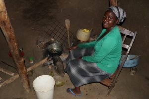 The Water Project:  Grace Prepares Food In Her Kitchen
