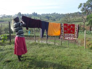 The Water Project:  Hanging Clothes To Dry