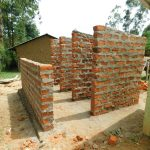 The Water Project: Makale Primary School -  Latrine Stalls Take Shape