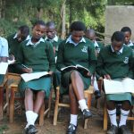 The Water Project: Friends Kuvasali Secondary School -  Students At Training