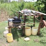 The Water Project: Mukhuyu Community, Chisombe Spring -  Dish Rack