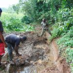 The Water Project: Chepnonochi Community, Shikati Spring -  Excavation