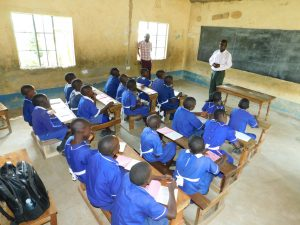 The Water Project:  Sanitation Teacher Addresses Pupils At Training