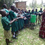 The Water Project: Friends School Mahira Primary -  Handwashing Demonstration