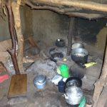 The Water Project: Mahira Community, Jairus Mwera Spring -  Inside Kitchen