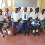 The Water Project: Friends Secondary School Shirugu -  Students In Group Discussion