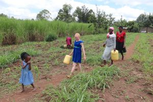 The Water Project:  Community Members Going To Collect Water