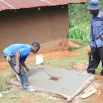 The Water Project: Chepnonochi Community, Shikati Spring -  Sanplat Construction