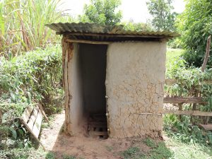 The Water Project:  Pit Latrine Made Of Mud Walls