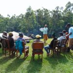 The Water Project: Chepnonochi Community, Shikati Spring -  Training