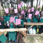The Water Project: Friends School Mahira Primary -  Pupils Excited About Training Materials