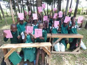 The Water Project:  Pupils Excited About Training Materials