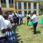 The Water Project: Friends Secondary School Shirugu -  Handwashing Demonstration