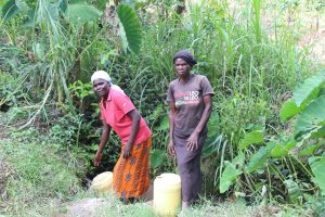 The Water Project:  In Line To Collect Water