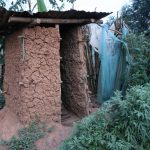The Water Project: Mukhuyu Community, Chisombe Spring -  Pit Latrine And A Bathing Room