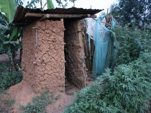 The Water Project:  Pit Latrine And A Bathing Room