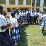 The Water Project: Friends Secondary School Shirugu -  Lydia Leads Handwashing Demonstration
