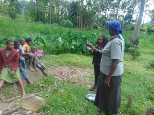 The Water Project:  Georgina Teaches Handwashing Steps