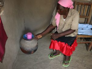 The Water Project:  Drinking Water Storage Pot