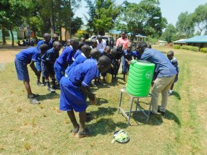 The Water Project:  Learning Good Handwashing Technique
