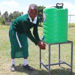 The Water Project: Friends School Mahira Primary -  Handwashing