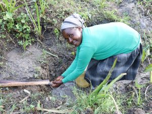 The Water Project:  Grace Washes Her Hands At Mausi Spring