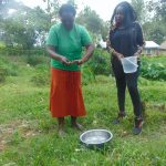 The Water Project: Bukhaywa Community, Ashikhanga Spring -  Handwashing Demonstrator