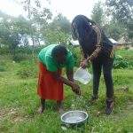 The Water Project: Bukhaywa Community, Ashikhanga Spring -  Handwashing