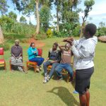 The Water Project: Chepnonochi Community, Shikati Spring -  Teaching Steps Of Handwashing