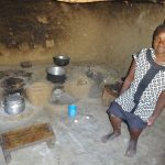 The Water Project: Mahira Community, Wora Spring -  A Woman Inside Her Kitchen