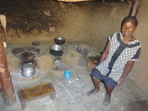 The Water Project:  A Woman Inside Her Kitchen