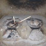 The Water Project: Mahira Community, Wora Spring -  Fireplace