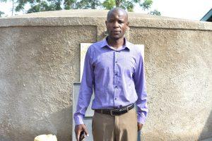 The Water Project:  Deputy Principal John Kalande