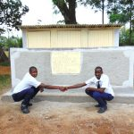 The Water Project: Friends Secondary School Shirugu -  Boys Pose At New Latrines