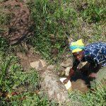 The Water Project: Mahira Community, Jairus Mwera Spring -  Collecting Water At The Spring