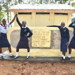 The Water Project: St. Peter's Khaunga Secondary School -  Girls At Their New Vip Latrines