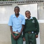 The Water Project: Friends Kuvasali Secondary School -  Boys At Their Latrines