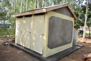 The Water Project:  New Boys Vip Latrines