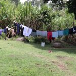 The Water Project: Mahira Community, Litinyi Spring -  Clothes Drying