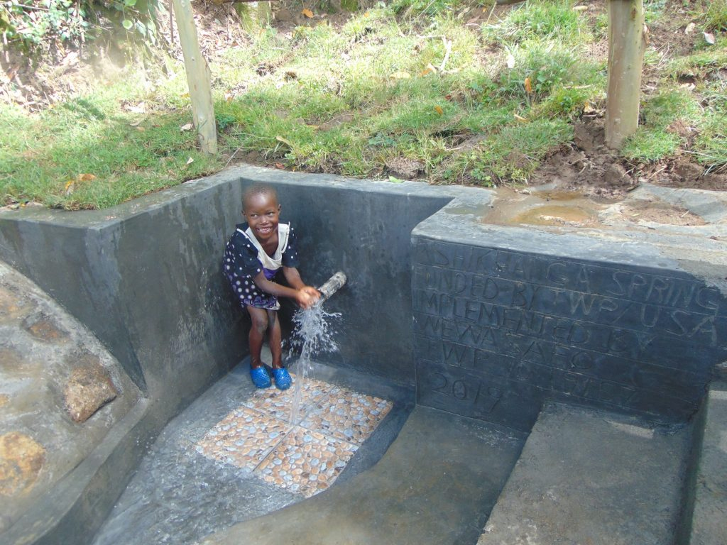 The Water Project : 34-kenya19157-smiles-at-the-spring