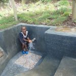 The Water Project: Bukhaywa Community, Ashikhanga Spring -  Smiles At The Spring