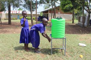 The Water Project:  Thumbs Up For Handwashing