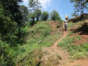 The Water Project:  Carrying Water Uphill