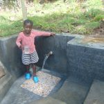 The Water Project: Bukhaywa Community, Ashikhanga Spring -  Clean Water For Drinking