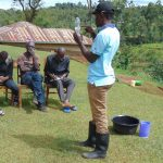 The Water Project: Chepnonochi Community, Shikati Spring -  Explaining Solar Disinfection