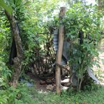 The Water Project: Mahira Community, Litinyi Spring -  Bathing Shelter