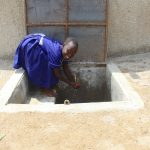The Water Project: Makale Primary School -  Kenya Smiles At The Rain Tank