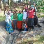 The Water Project: Bukhaywa Community, Ashikhanga Spring -  Celebrating The Spring