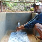 The Water Project: Chepnonochi Community, Shikati Spring -  Enjoying The Spring Water