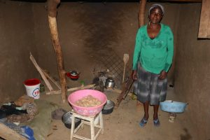 The Water Project:  Grace Inside Her Kitchen